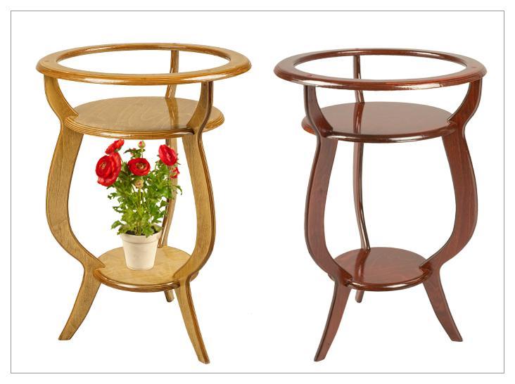 Подставки для цветов напольные деревянные