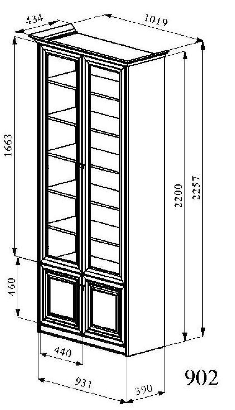 Шкаф 902 - каталог.